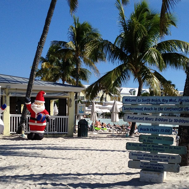 Santa in Key West