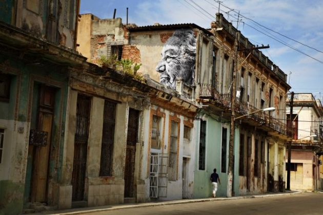 La Havana wrinkles of the city