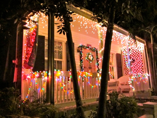 decorated house in key west