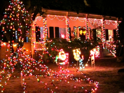 Another holiday decorated house in key west